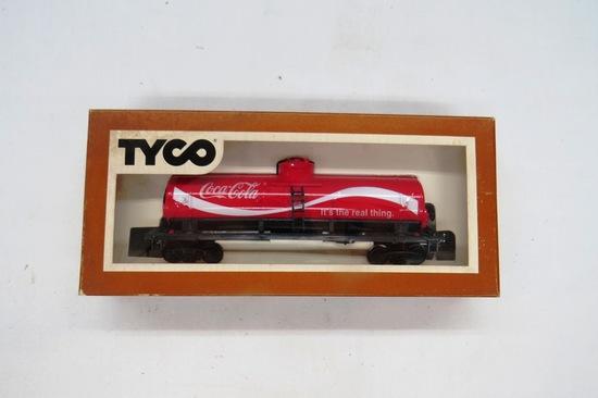 Tyco HO Scale 40' Coca Cola Tanker Car, #315L in Original Box.