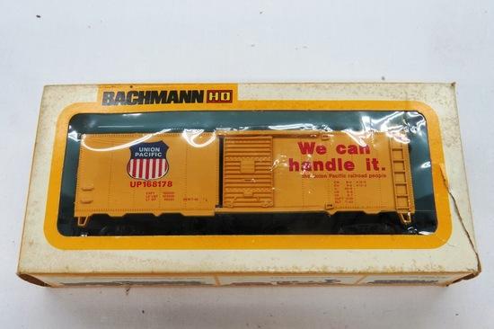 Bachman HO Scale Union Pacific 41' Box Car, #0913 in Original Box.