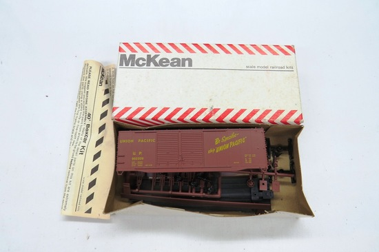 McKean Scale Model Railroad Kits, Old Style Union Pacific 40' Double Door B