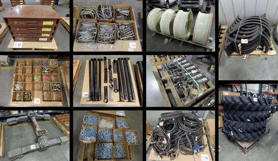 Excess New/Used Parts Inventory Online Auction