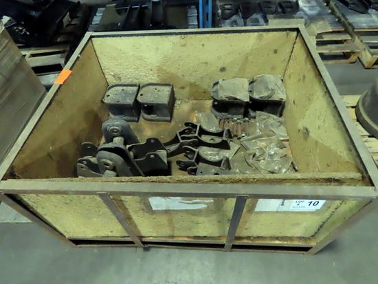 Pallet of Misc Trailer Suspension Parts.