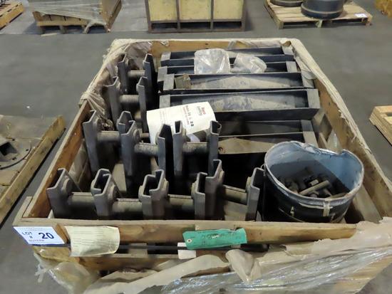Pallet of Reyco Granning Model 86 & 88 Suspension Parts.