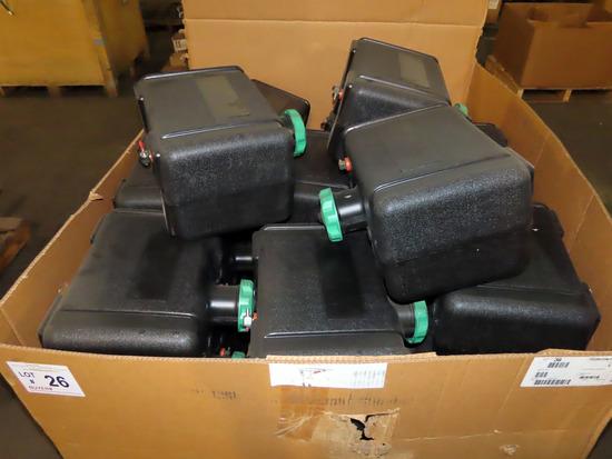 Pallet of Approx (36) Tough Built Diesel Tanks for Tough Built Utility Tractors.