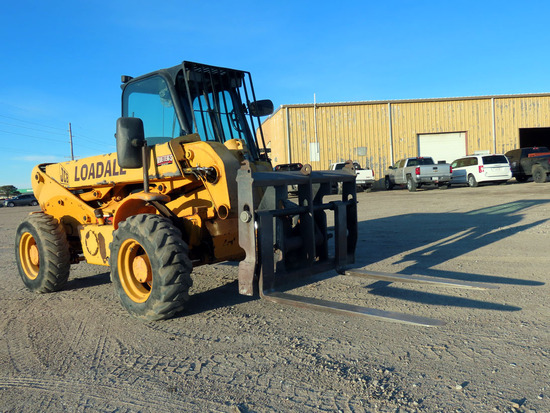 1998 JCB Loadall Model 520 Rough Terrain Forklift, SN#SLP520WF0789573, Dies