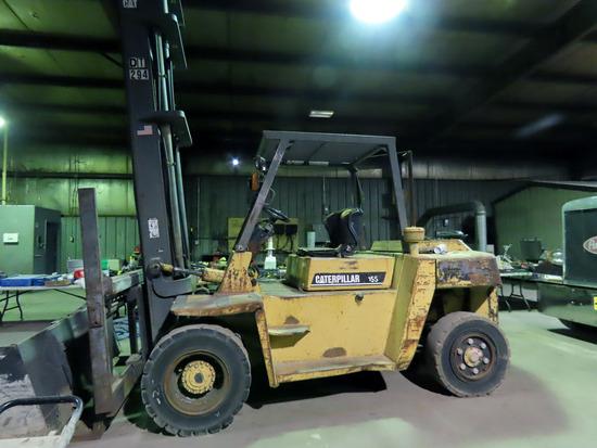 Caterpillar Model DP70 Diesel Forklift, SN#90P00182, Diesel Engine, Hydrost
