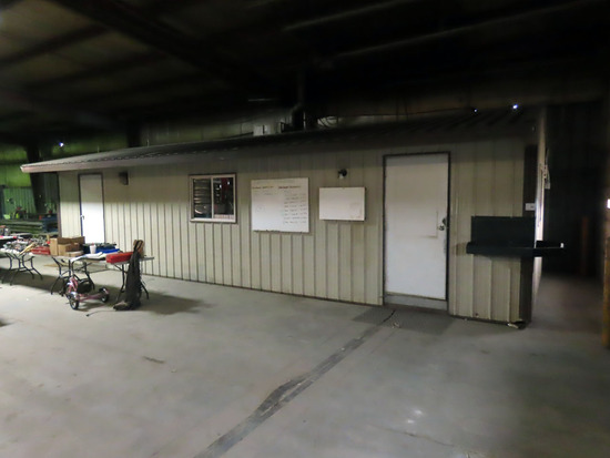 12'x36' Portable Steel Office Building, Steel Framed, Steel Siding, (2) Win