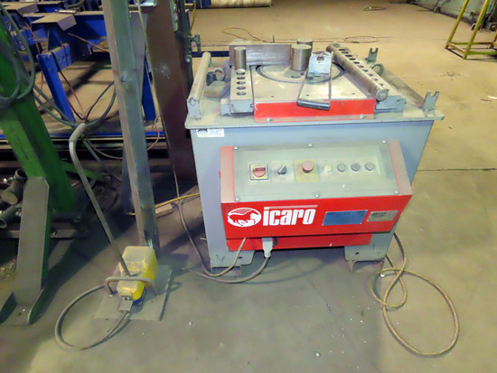 2012 Icaro Model TP38/45 Hydraulic Conduit Bender Table, SN#3845-IP-10347-R