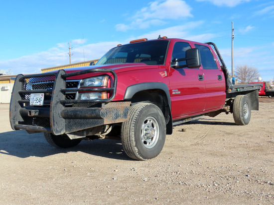 2007 Chevrolet Model K-3500 Crew Cab Diesel 4x4 Pickup