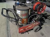 Hotsy Model 795SS Portable Pressure Steamer/Washer on Cart, SN #11090390-16