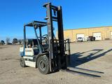 "Komatsu Model 25 LP Gas Forklift, SN#460520, LP Gas Engine, ROPS, 168"" 2-St"