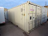 2016 8' x 20' Portable All Steel Jobsite Storage Container, Cargo Doors, Li