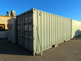2013 8' x 20' Heavy Duty All-Steel Portable Jobsite Storage Container, Carg
