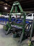 Buffalo Heavy Duty Steel Hydraulic Shop Press, SN#VE0896230, 5 Horse Power