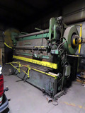 Cincinnati Heavy Duty Hydraulic Press Brake, 10' Width, 4-Way Die, Foot Con