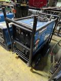 Miller Trailblazer 325EFI Portable Welder/Generator On Cart, SN#MF320358R,