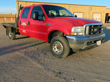 2002 Ford Model F-350 Super Duty Crew Cab Diesel 4x4 Pickup