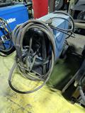 Miller Millermatic 300 Portable Wire Feed Welder on Cart, Leads & Gun, No T
