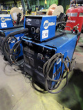 Miller Model CP-302 Portable Welding Source on Cart, SN#MF192004V, Electric
