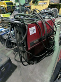 Lincoln Model Power Mig 255 Portable Wire Feed Welder on Cart, U1021009229,