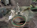 Mathey Dearman All Aluminum Pipe Cutting Torch with Victor MT210 Brass Cutt