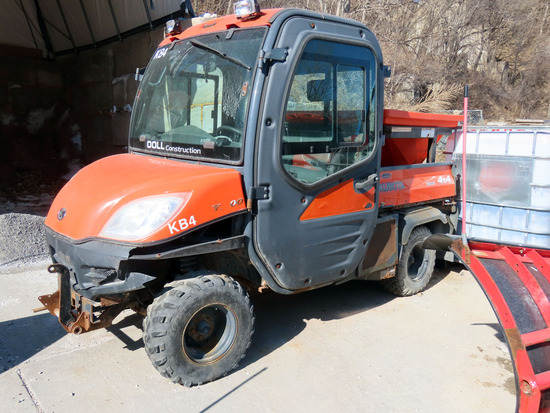 Kubota Model RTV1100 Diesel 4x4 UTV, VIN# A5KC1HDAKBG032142, Kubota Diesel Engine with Electric