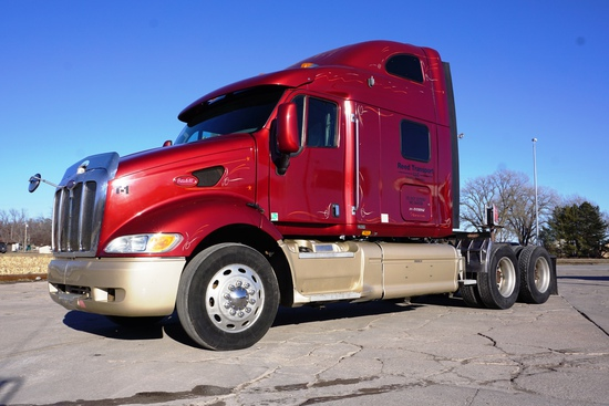 2003 Peterbilt Model 387 Conventional Tandem Axle Truck Tractor, VIN# 1XP-7DU9X-0-3D593882, Caterpil
