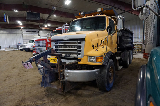 2005 Sterling Model LT7501 Tandem Axle Conventional Dump Truck, VIN# 2FZHATDC05AN83500, Caterpillar