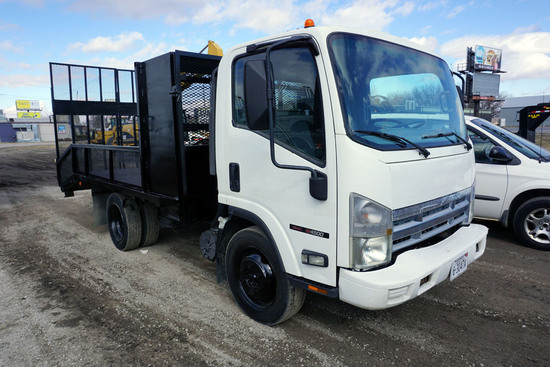 2008 GMC Model W4500 Landscape Truck, VIN# 4KDC4B1U78J800472, Isuzu Gas Engine, Automatic