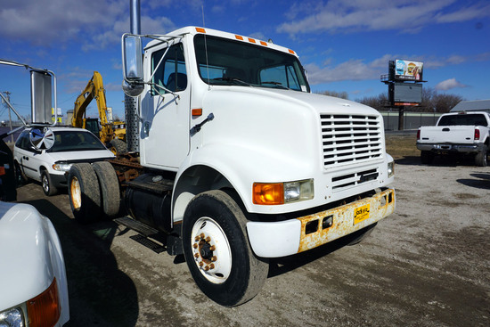 1995 IHC Model 8100 4x2 Single Axle Truck Tractor, VIN #1HSHBADNX5H203465, DT 466 Diesel Engine,