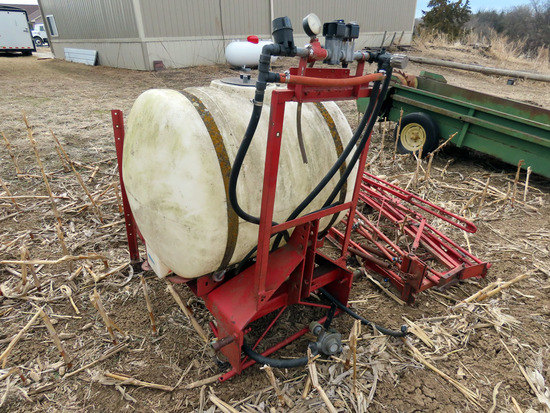 3-Point Sprayer with Booms.
