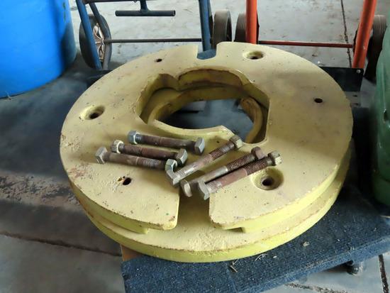(2) Rear Wheel Weights (2x$).