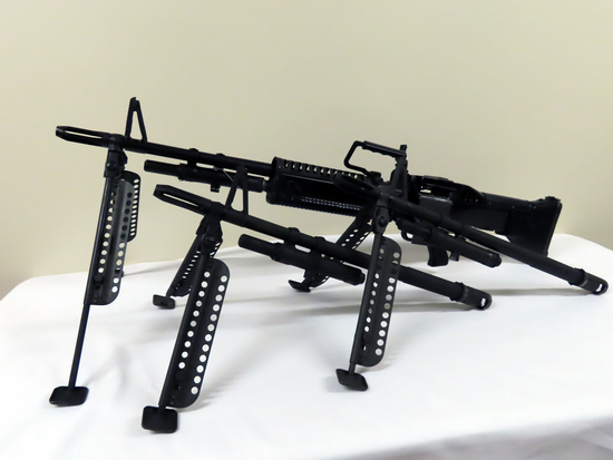 "Rock Island Arms Model M-60 Fully Automatic Rifle, SN# 10465, 7.62x51 Caliber, (3) 22"" Barrels, Orig"
