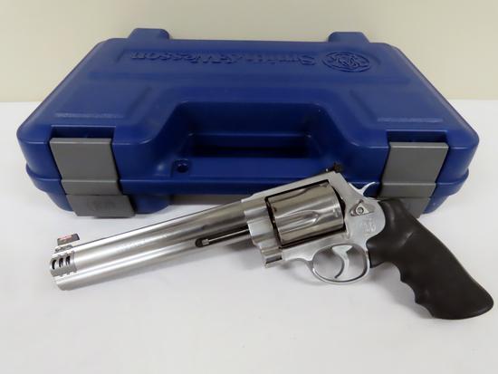 "Smith & Wesson Model 500 5-Shot Revolver, SN# CXB7996, 500 Smith & Wesson Magnum Caliber, 7 1/2"" Sta"