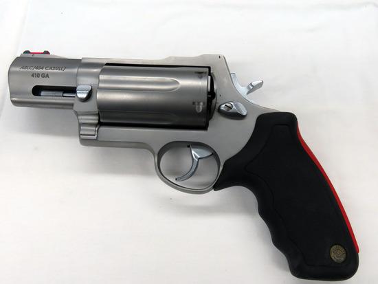 Taurus Model Ragin Judge Double Action Revolver, SN# ET462786, .45LC/.454 Cassull/.410 Gauge Caliber