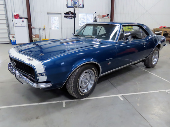 1967 Chevrolet Camaro RS/SS 2-Door Hardtop, 383 Stroker V-8 Gas Engine with Pro Charger (400HP), Mun