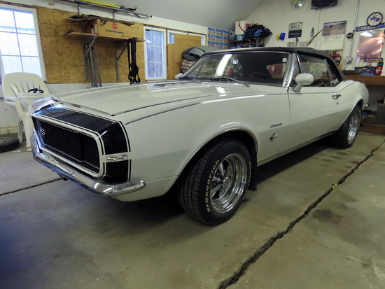1967 Chevrolet Camaro RS 2-Door Convertible, 350 V-8 Engine, Auto Transmission with Overdrive,