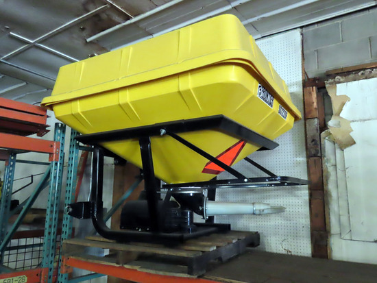 Frontier Model SS1220P 3-Point Broadcast Seeder Attachment with Large Plastic Hopper, PTO Drive, SN#