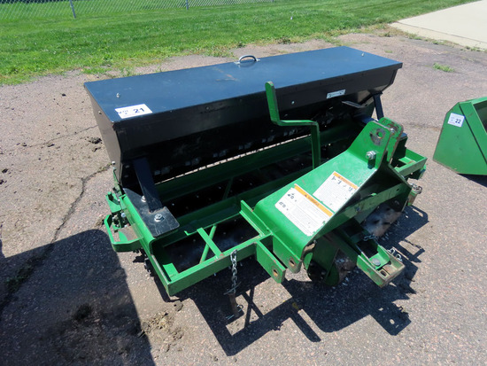Frontier Model 0S1060M 3-Point Aerator Over Seeder Attachment, SN# WD0S1060M545191, 60� Large Stee