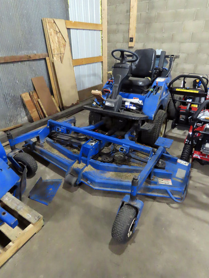 New Holland MC28 Front Deck Diesel Commercial Riding Lawn Mower, 2WD, Hydrostat (when it warms up th