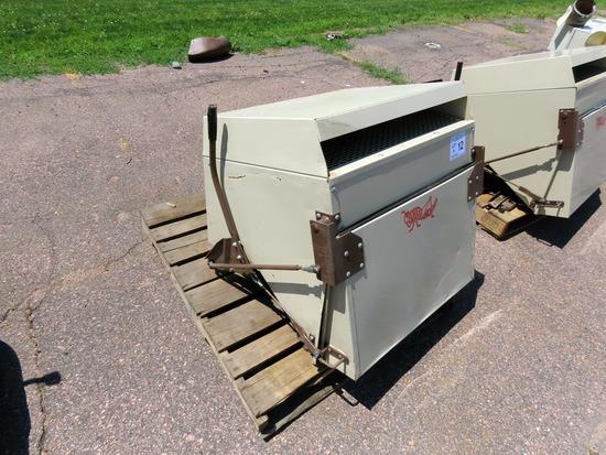 Grasshopper Model 12 Bagger Attachment, SN# 503213 (Will fit 612, 614, 616 & 618-2012 or Older).