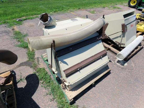 Grasshopper Model 15 Bagger Attachment for 700 Series Grasshoppers-2004 & Older.