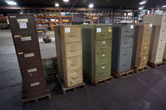 (5) Metal File Cabinets.