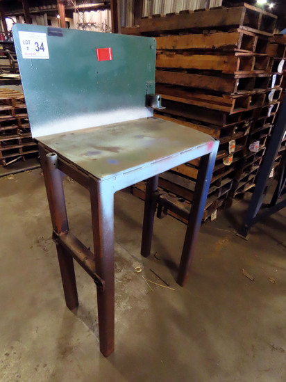 Steel Chipping Bench.