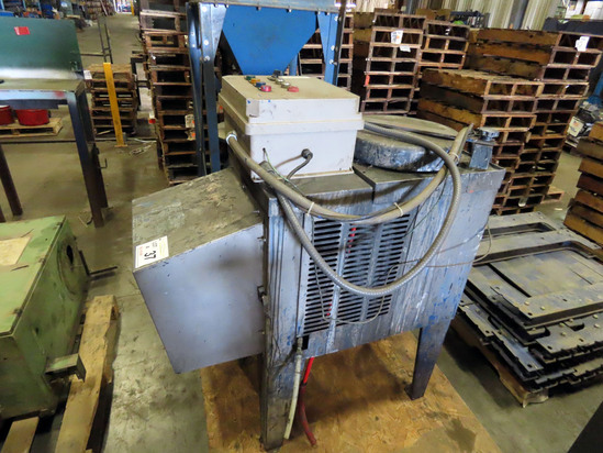 Kleentech, Inc Model KT750 Stationary Solvent Distiller Unit, SN# 037742, Control Panel.