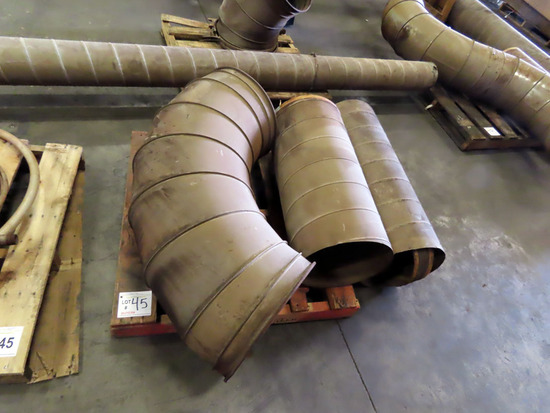 (4) Pallets of Duct Work.