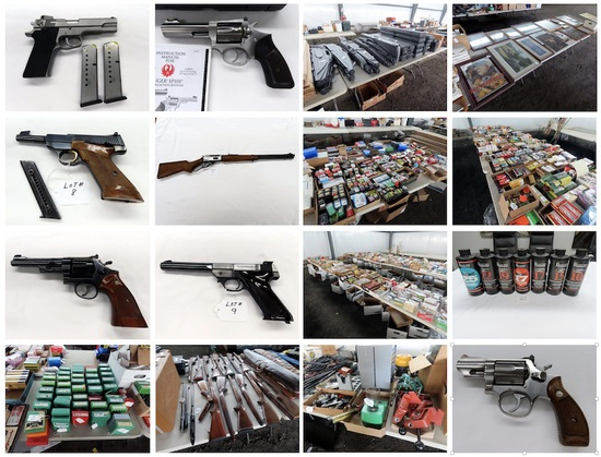 Huge Complete Firearms & Ammunition Estate Auction