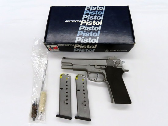 Smith & Wesson Model 1006 Semi-Auto Pistol, SN #TES9823, 10mm Caliber, (2) 9-Shot Magazines, Origina