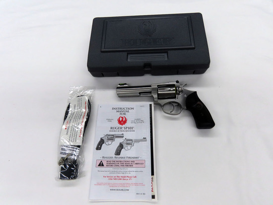 "Ruger Model SP101 Double Action Revolver, SN #576-49954, .327 Fed. Mag. Caliber, 4"" Stainless Steel"