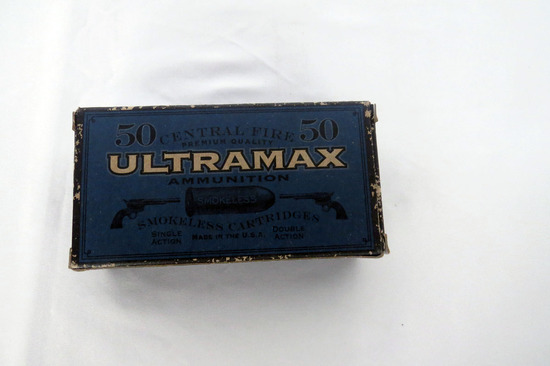 (1) Box of Ultramax .32 H & R Ammo.