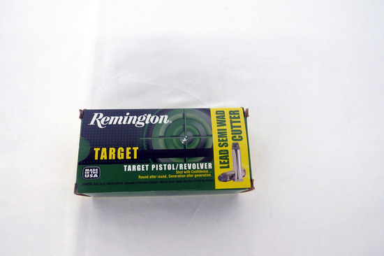 (1) Box of Remington .38 Special Ammo.